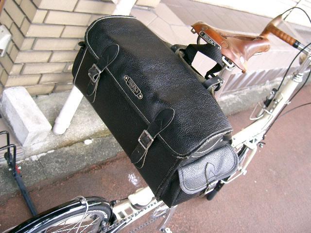 brooks 自転車 バッグ