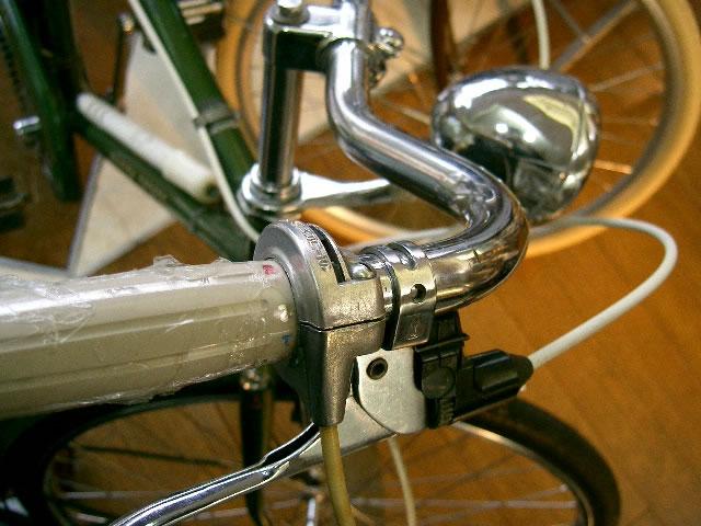 自転車の 自転車 ハンドルロック 修理 : この車体には、ハンドルロック ...